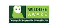 """Wildlife Aware"" Campaign for Responsible Rodenticide Use logo"